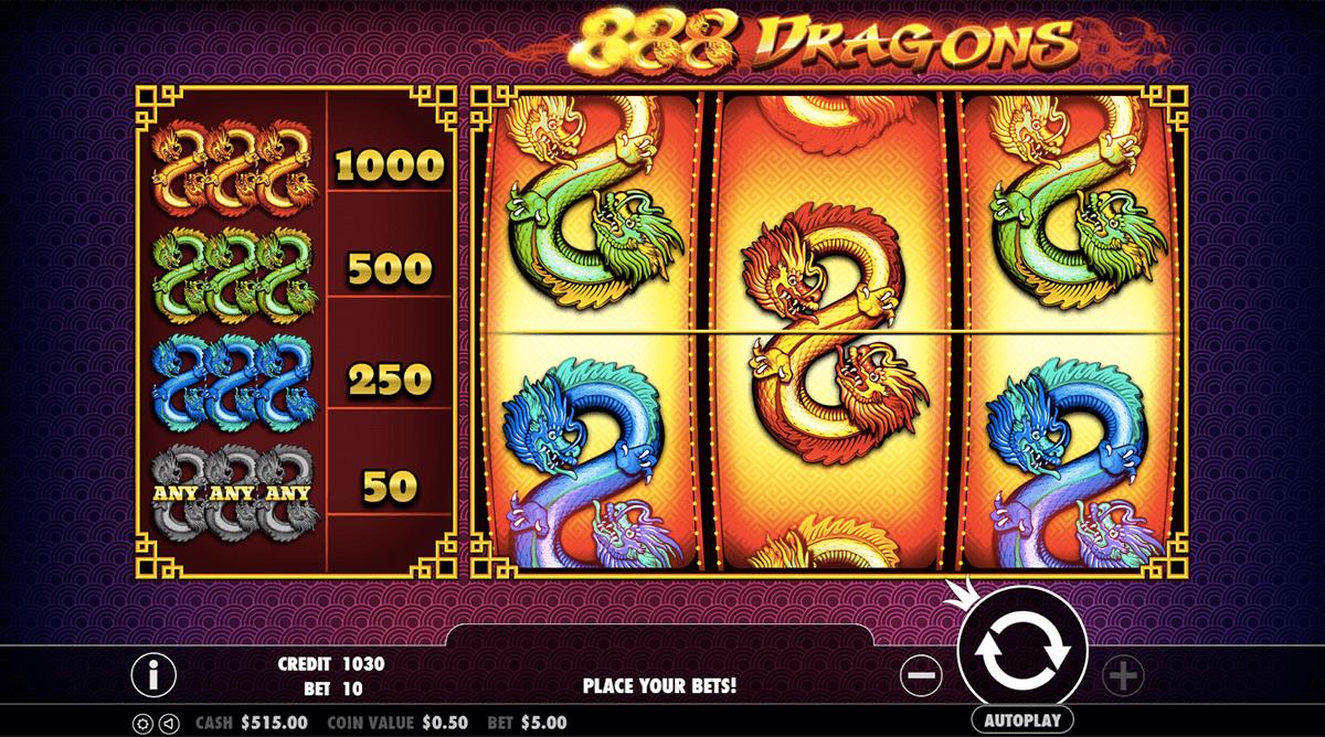 888 dragons pragmatic slot