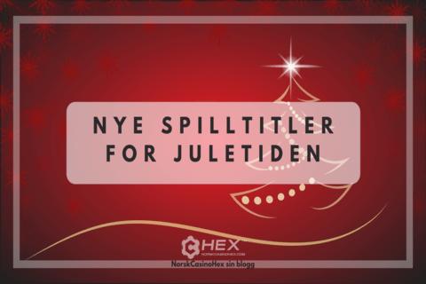 He Blog nye spilltitler for juletiden