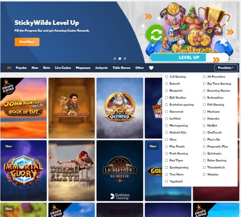StickyWilds Casino
