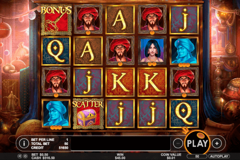 aladdin s treasure pragmatic slot