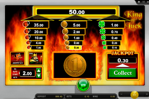 alles spitze king of luck merkur slot