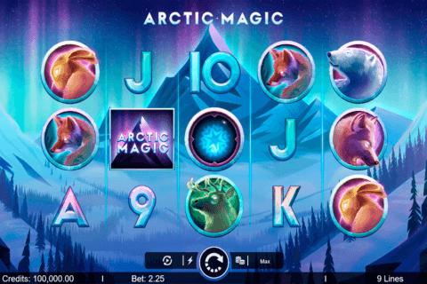 arctic magic microgaming slot