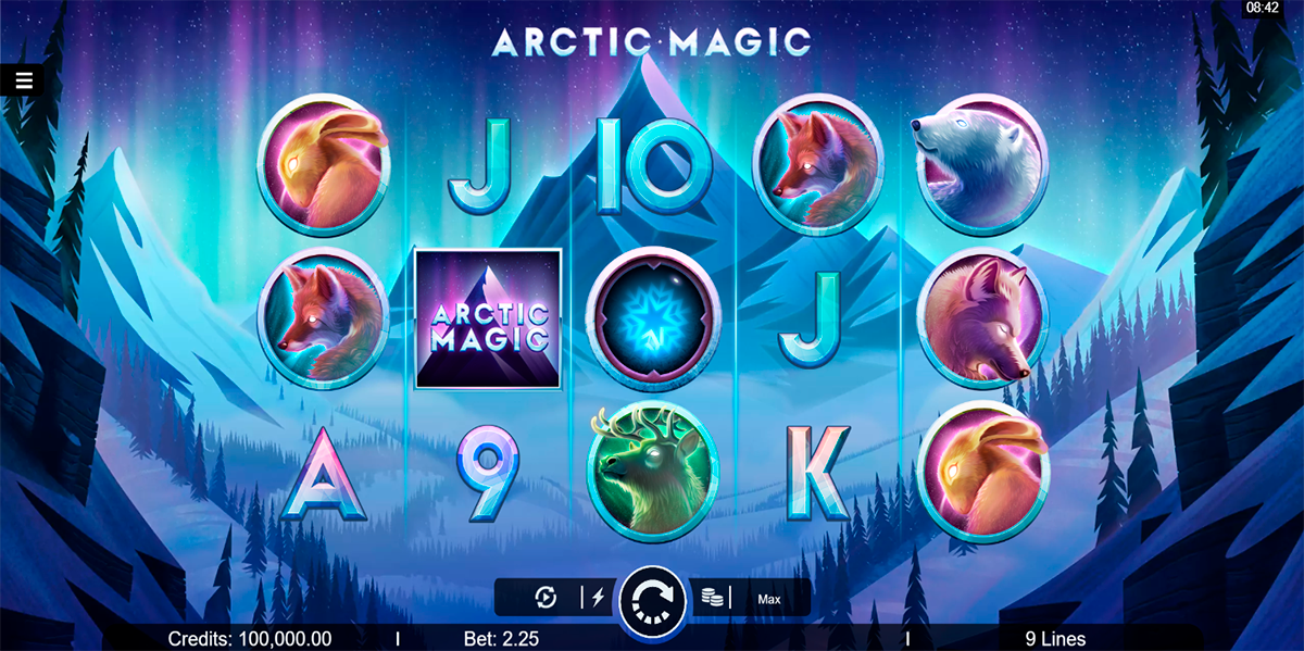 arctic magic microgaming slot