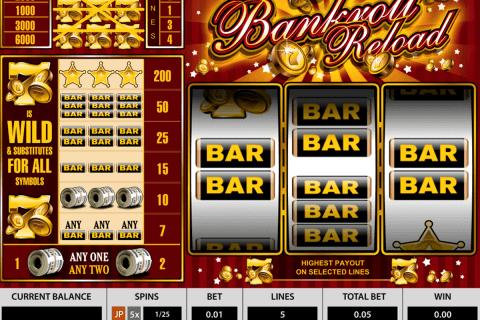 bankroll reload pragmatic slot