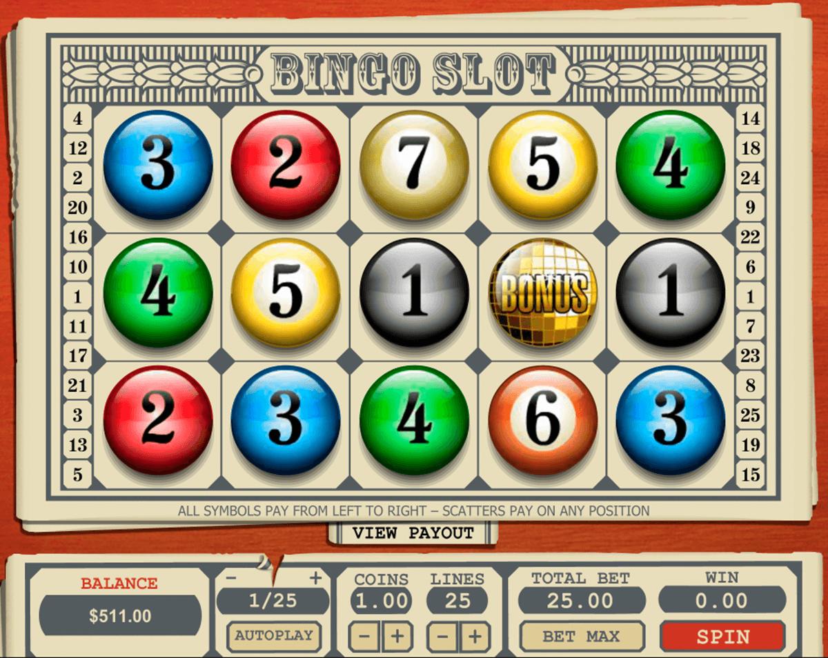 Bingo spilleautomat