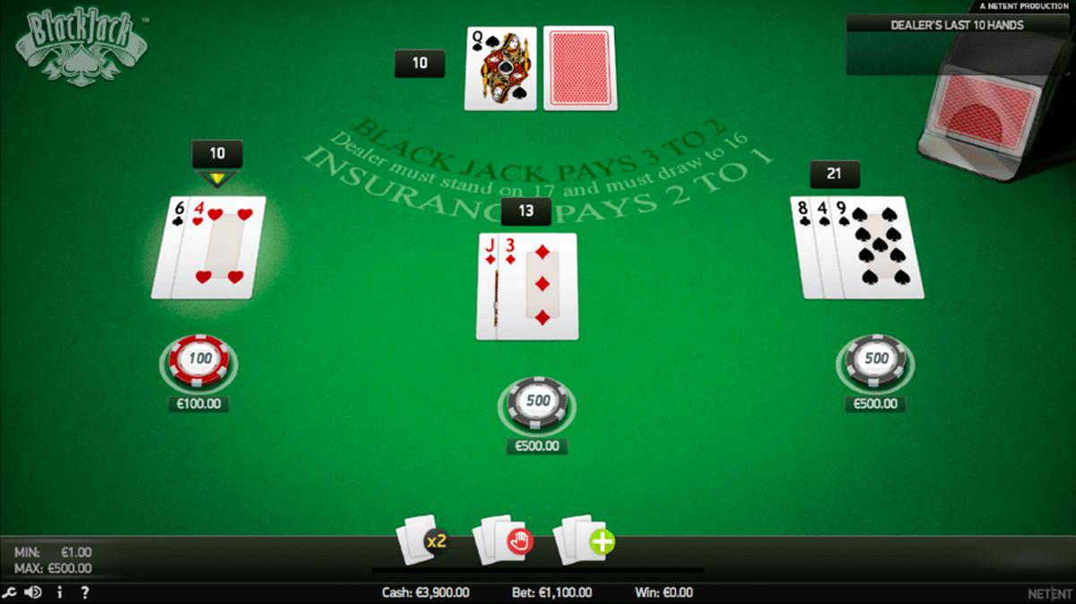 blackjack pro netent