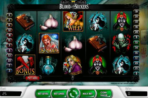 blood suckers netent slot