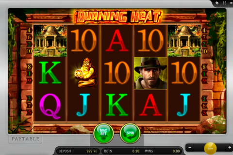 burning heat merkur slot