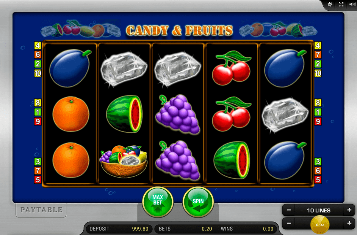 candy and fruits merkur slot