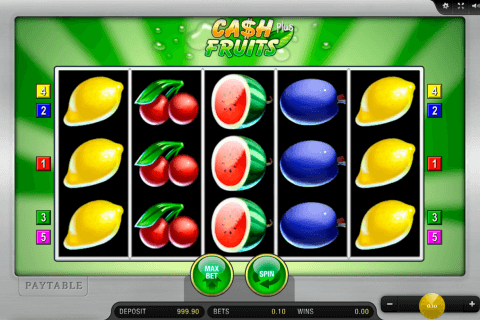 cash fruits plus merkur slot