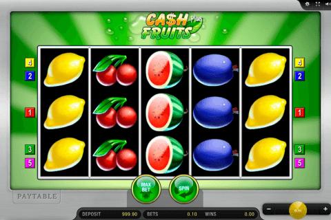 cash fruits plus merkur slot