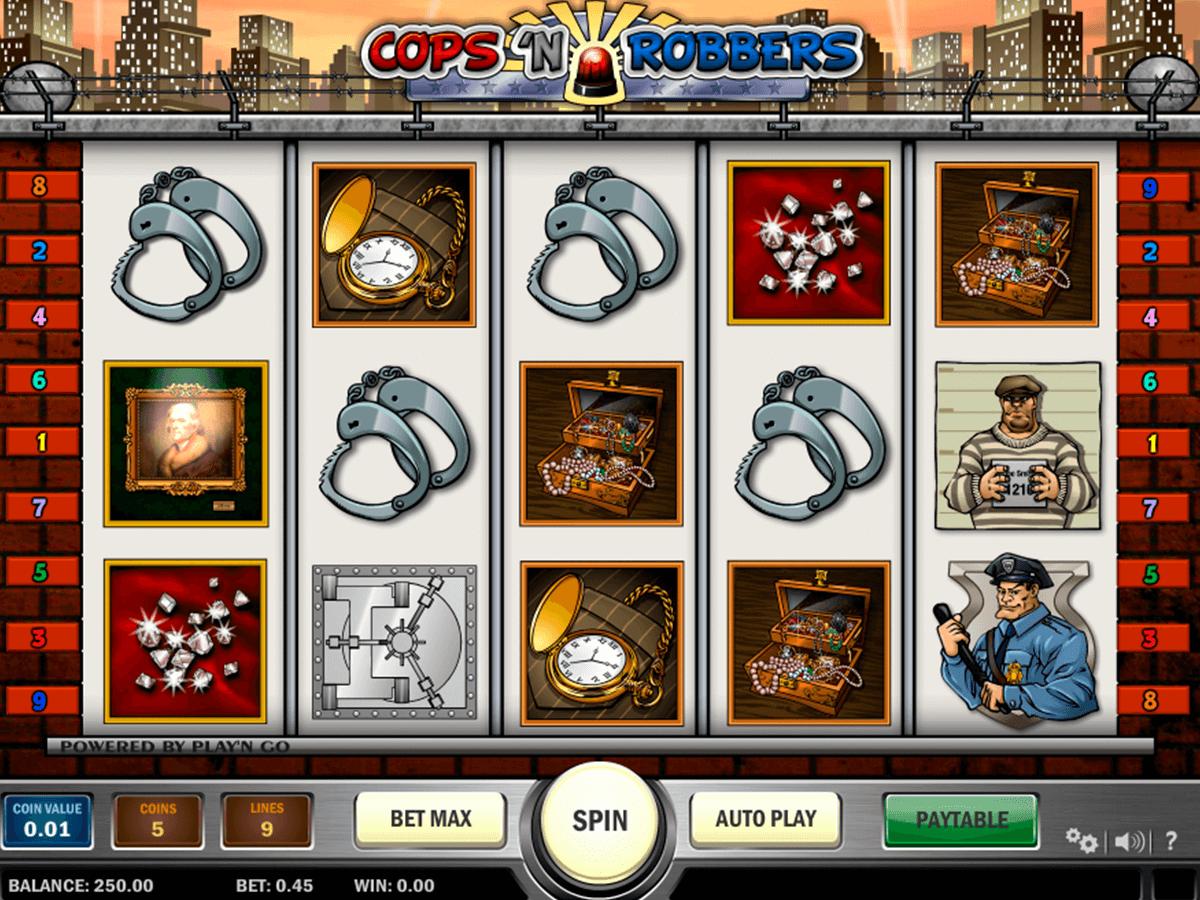 cops n robbers playn go slot