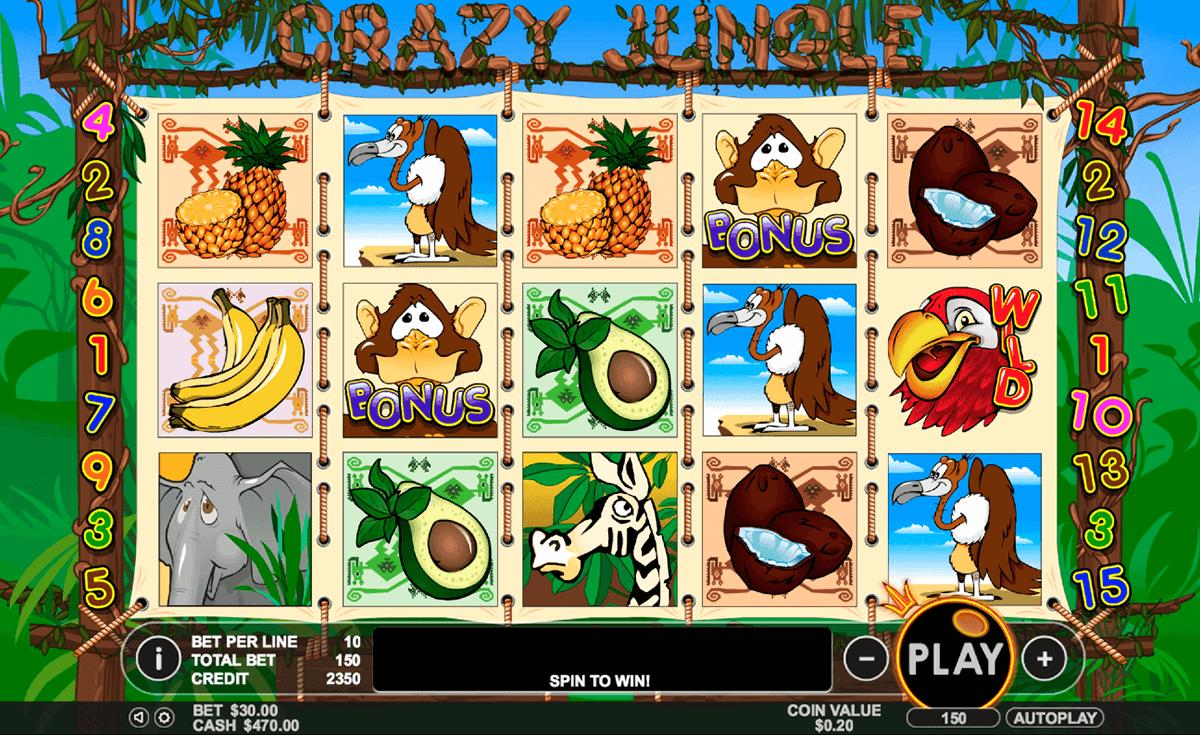 crazy jungle pragmatic slot