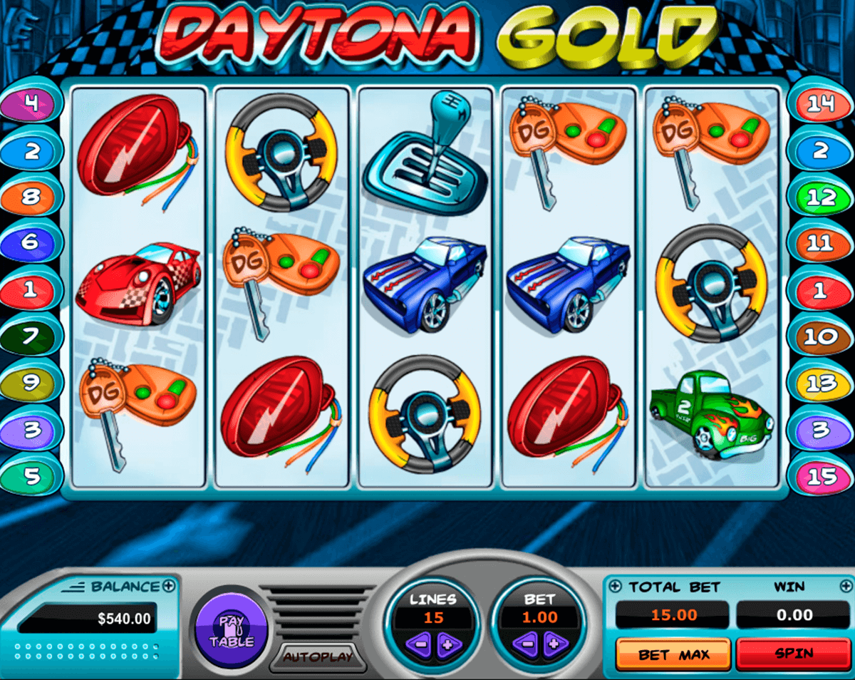 daytona gold pragmatic slot