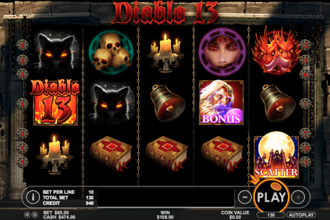 diablo  pragmatic slot