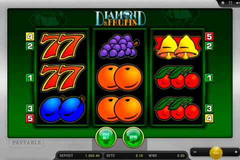 diamond and fruits merkur slot