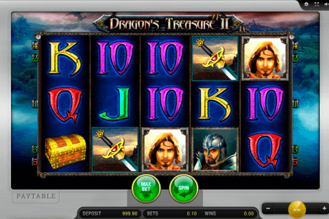 dragons treasure ii merkur slot