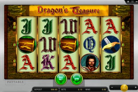 dragons treasure merkur slot