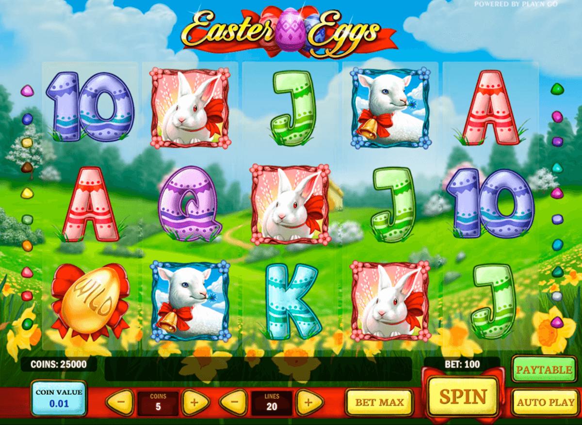 easter eggs playn go slot