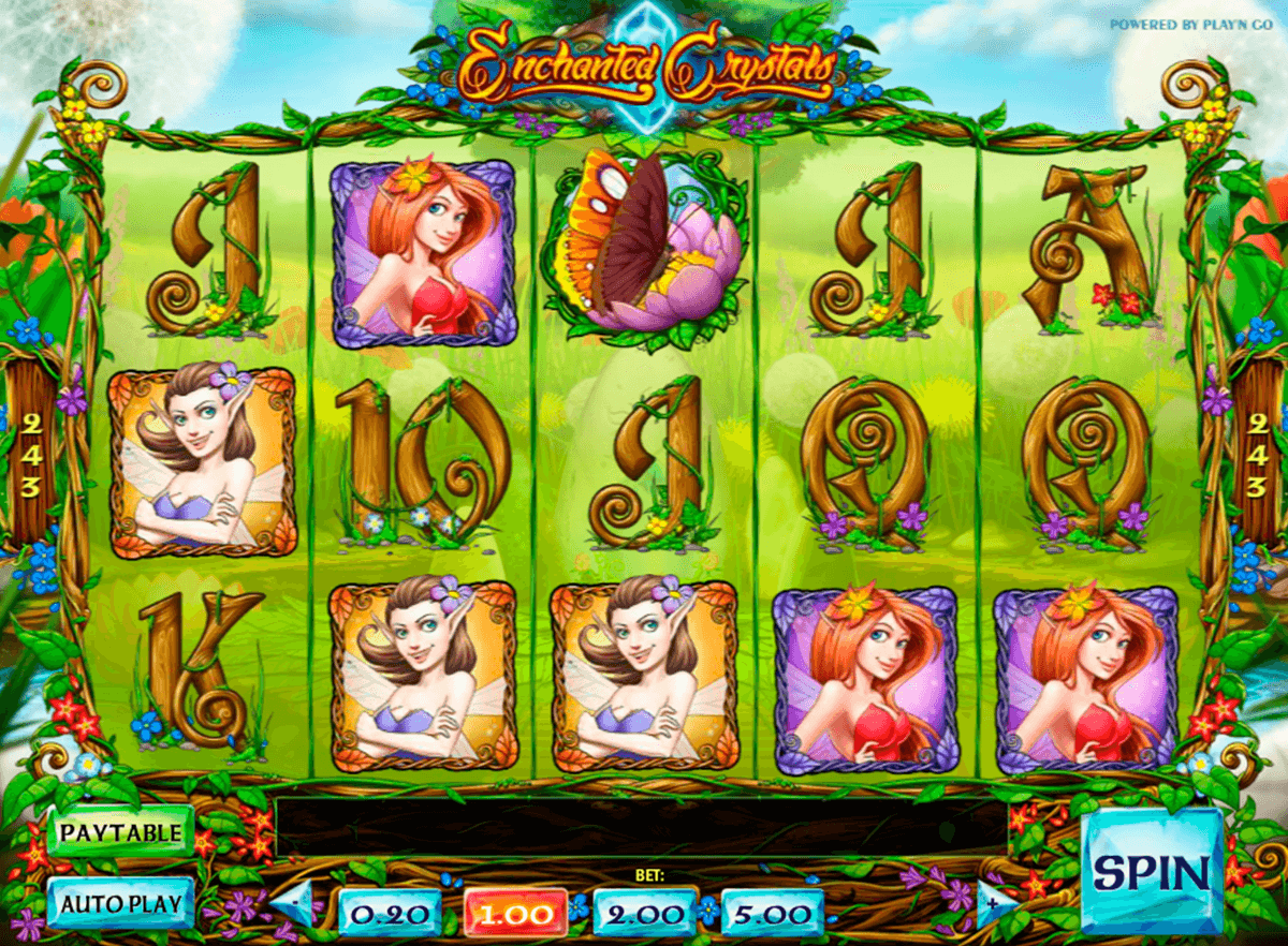 enchanted crystals playn go slot