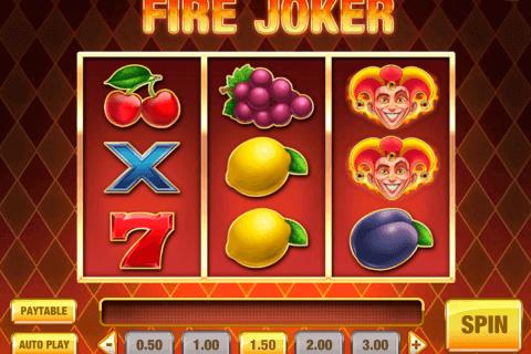 fire joker playn go slot