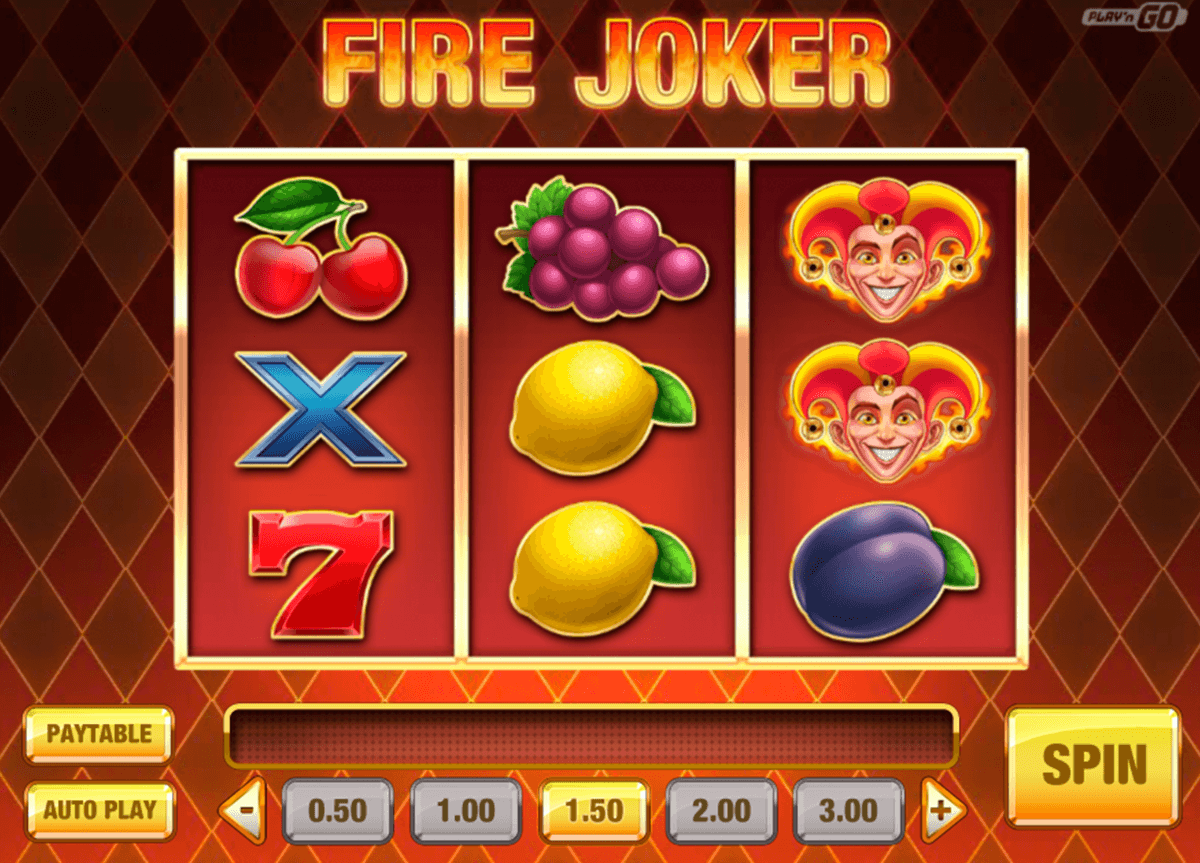 Fire Joker Slot From PlayN Go Released