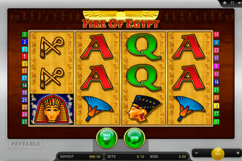 fire of egypt merkur slot