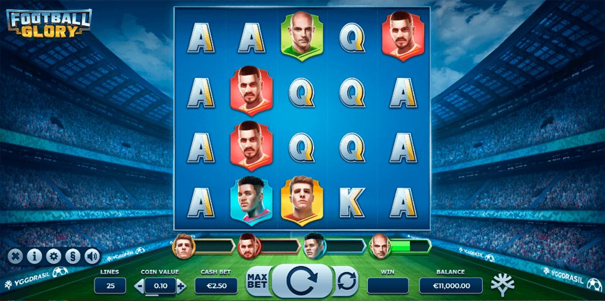 football glory yggdrasil slot