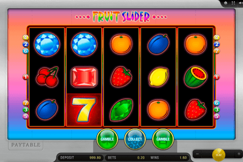 fruit slider merkur slot