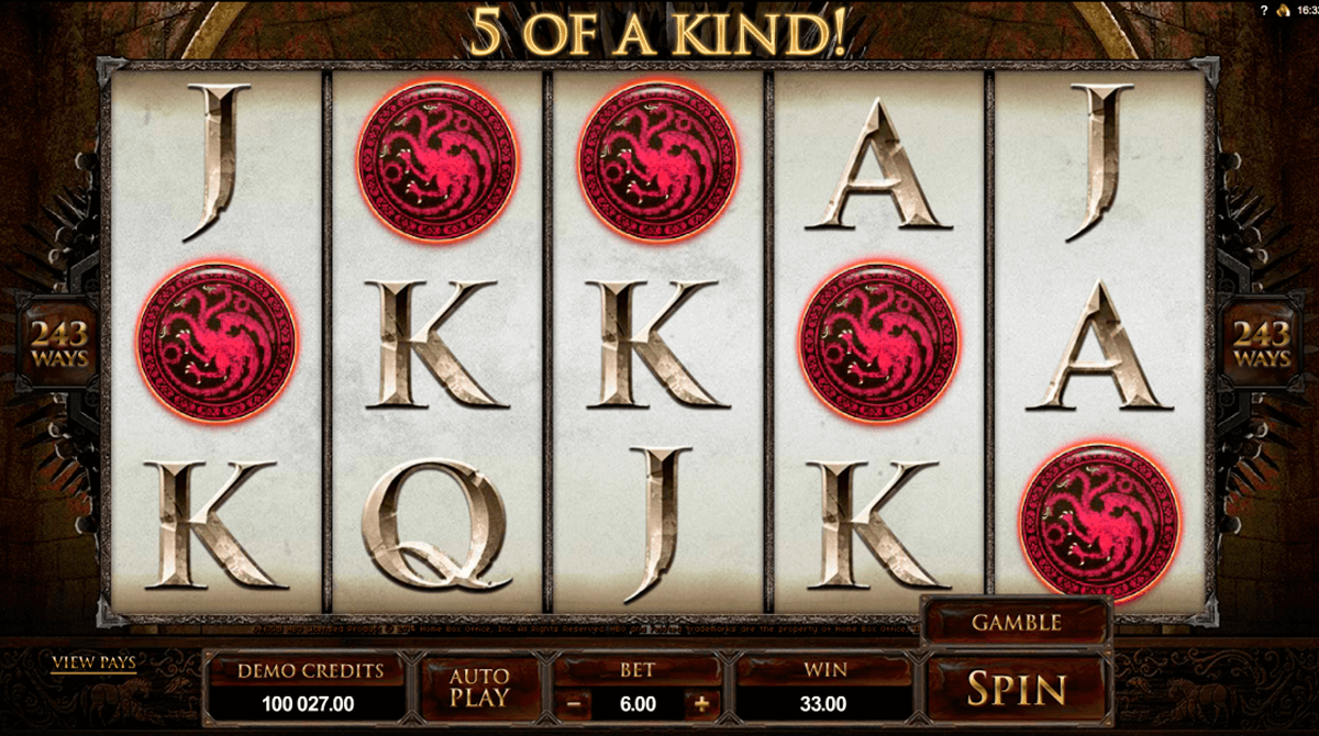 game of thrones 243 ways microgaming slot