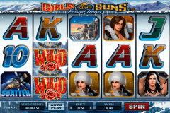 girls with guns frozen dawn microgaming slot