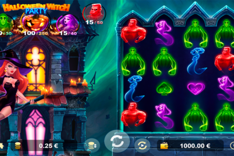 halloween witch party agames slot