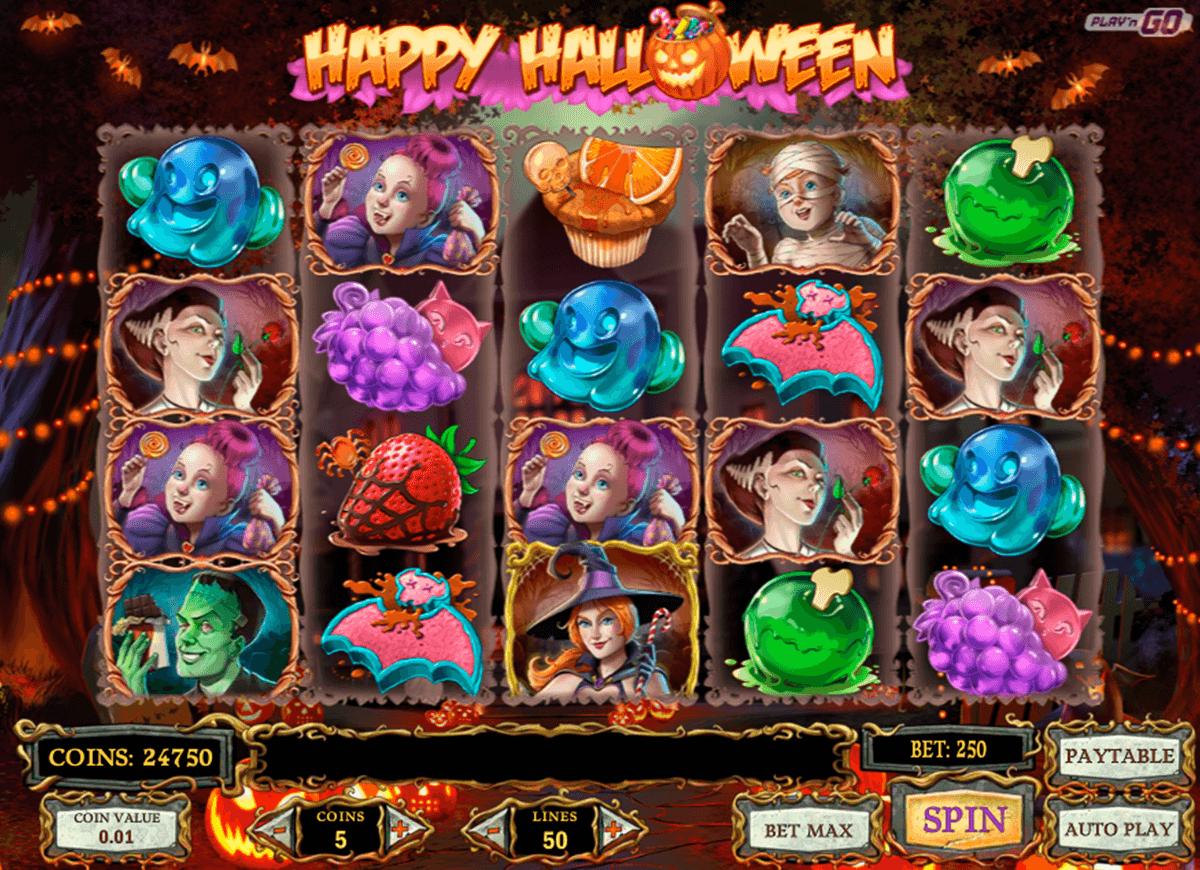 happy halloween playn go slot