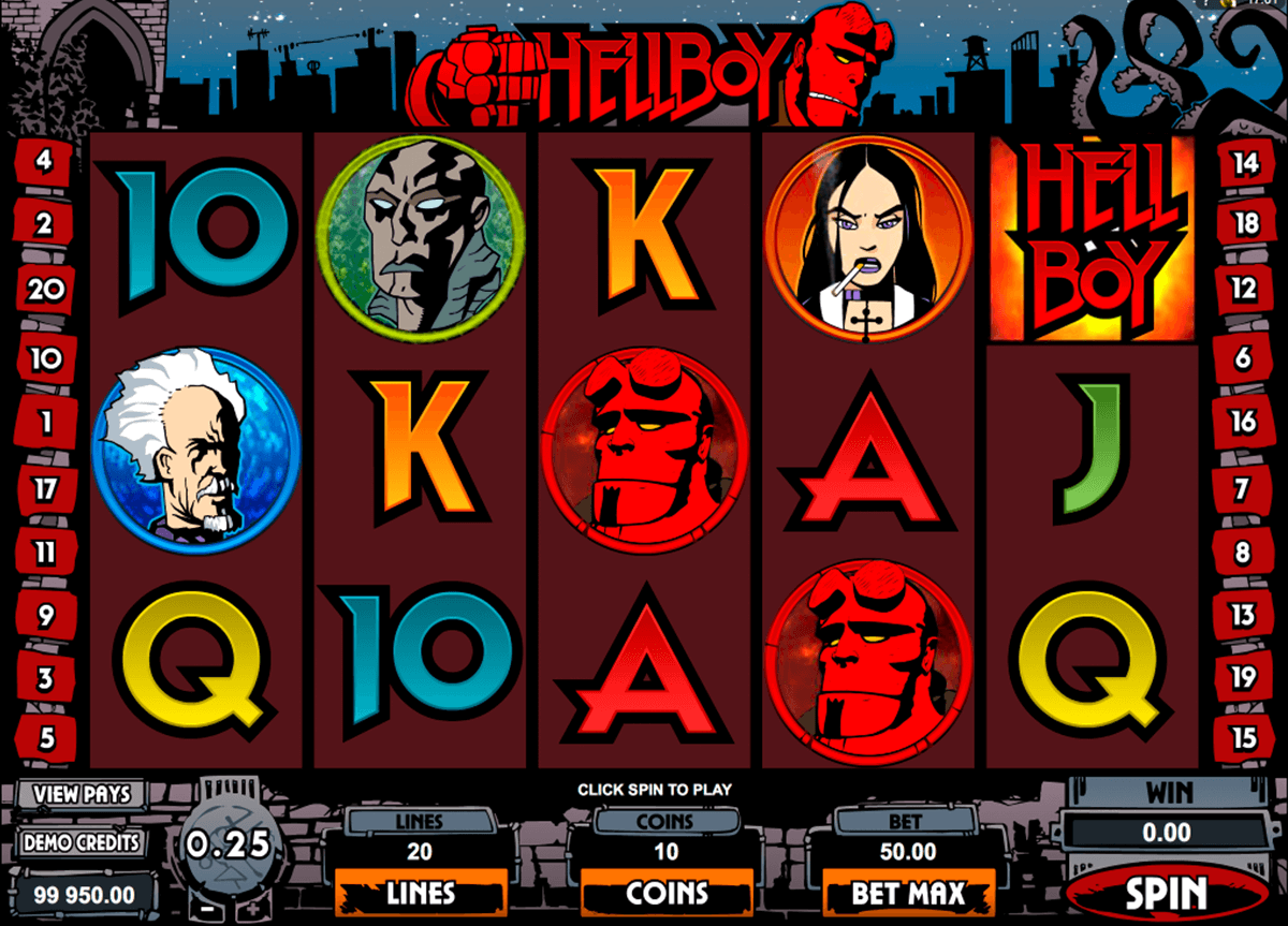 hellboy microgaming slot