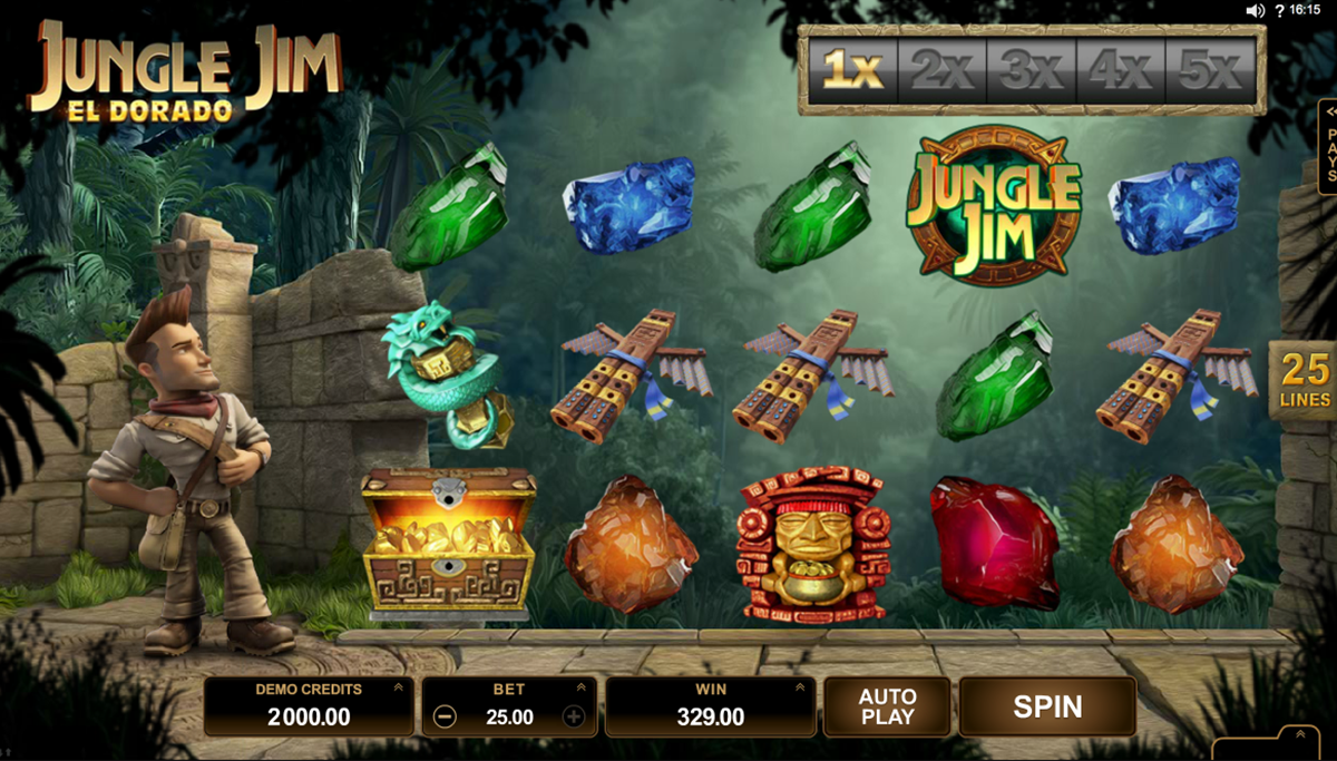 jungle jim el dorado microgaming slot