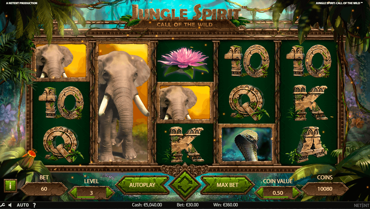 jungle spirit call of the wild netent slot