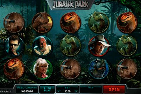 jurassic park microgaming slot