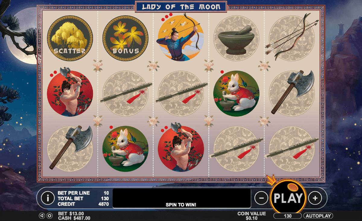 lady of the moon pragmatic slot