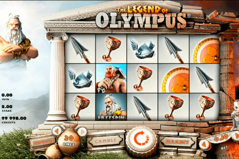 legend of olympus rabcat slot