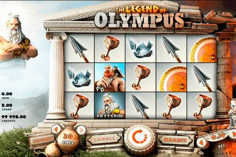 legend of olympus rabcat slot