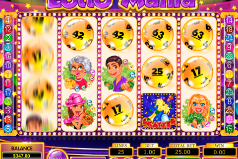 lotto mania pragmatic slot