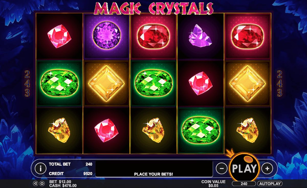 magic crystals pragmatic slot