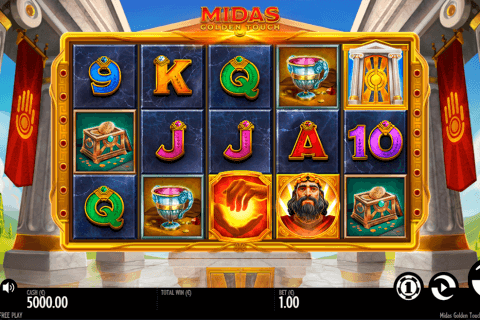 midas golden touch thunderkick slot