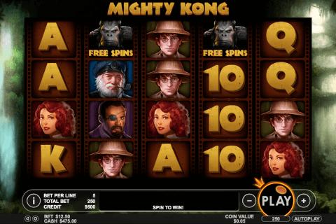 mighty kong pragmatic slot