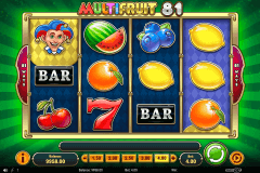 multifruit  playn go slot