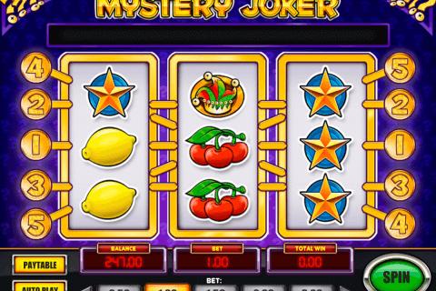 mystery joker playn go slot