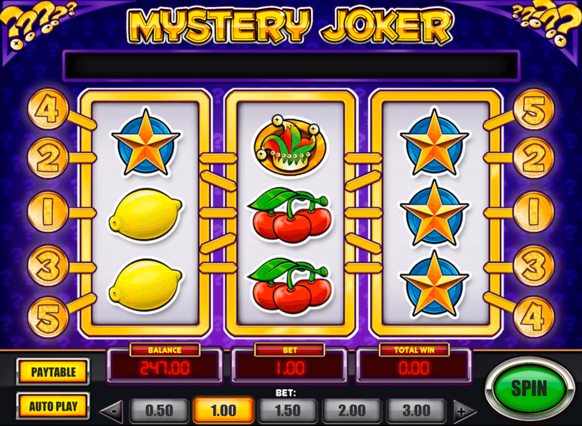mystery joker playn go slot