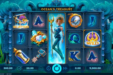oceans treasure netent slot