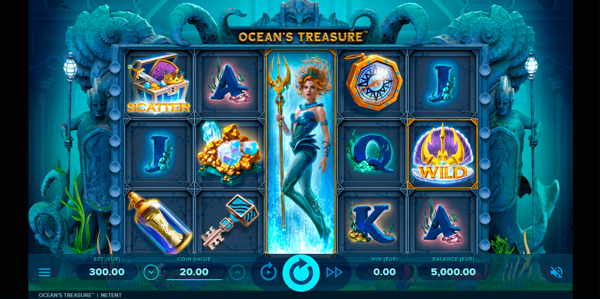 oceans treasure netent slot