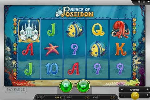 palace of poseidon merkur slot